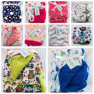 New cozy blankets for boys and girls 30 x 40